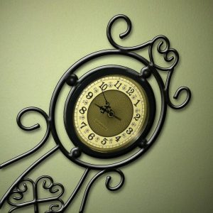 ornate clock MGD©